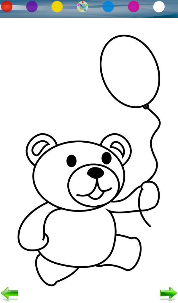泰迪卡通简笔画