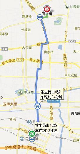 上海虹桥机场到昆山市周市镇怎么坐车?需要多少时间?