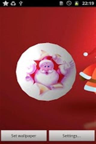 圣诞老人动态壁纸_360手机助手