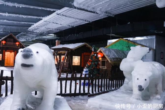 夏天还有雪?长沙三只熊冰雪王国的雪到底从哪里来?