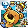 可爱小熊偷食蜂蜜