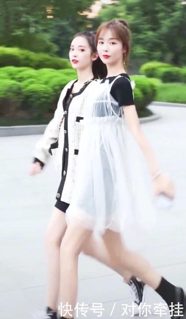 """大一女生换了一款""""小学生裙"""",没想到美成校花,还拔腿长5cm"""
