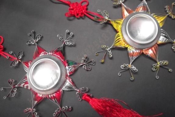 《易拉罐工艺品手工制作》内容包括易拉罐工艺品手工