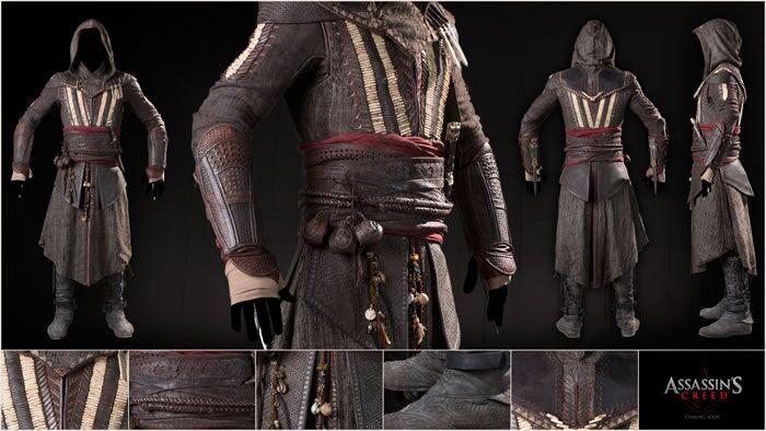 《刺客信条》电影版服装细节