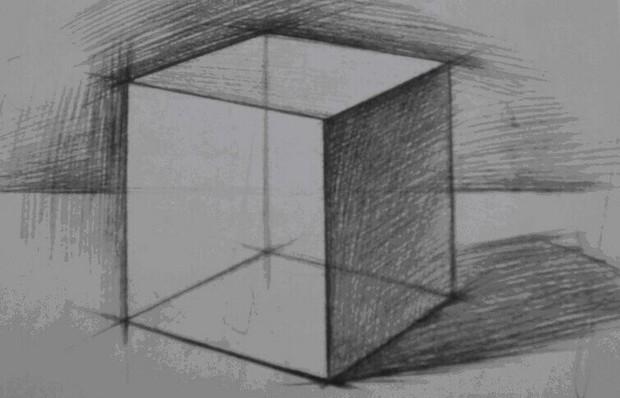 怎样画长方形立体图形