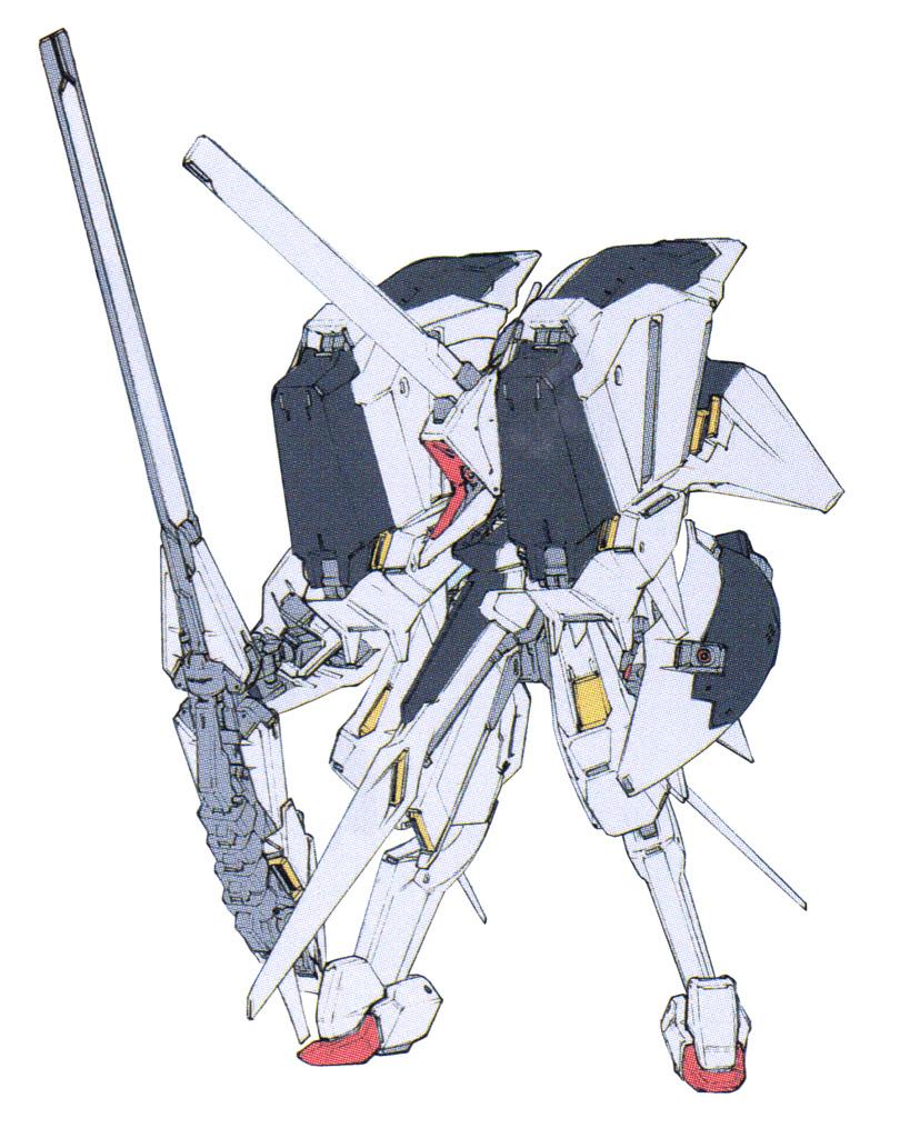RX-124高达TR-6·进阶型基哈尔Ⅱ
