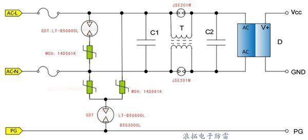 led节能灯电路怎样选用压敏电阻