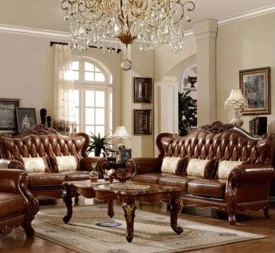 建议呢是配古典欧式深色的家具比如棕色