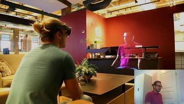 微软HoloLens推出全息社交HoloBeam 发布时间未定
