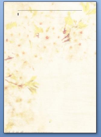 在word中插入背景图片如何平铺整张a4纸