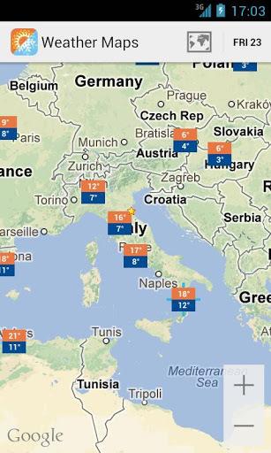 天气地图截图4