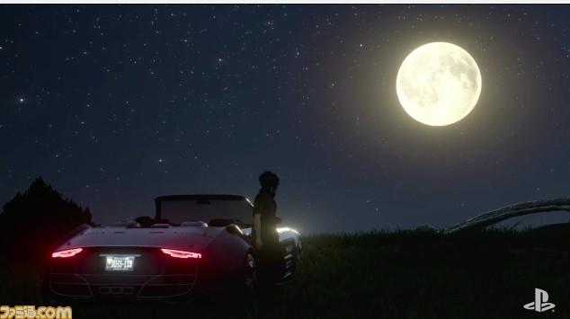 《最终幻想15》月亮限定版PS4曝光