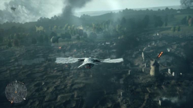 《战地1》战鸽视角