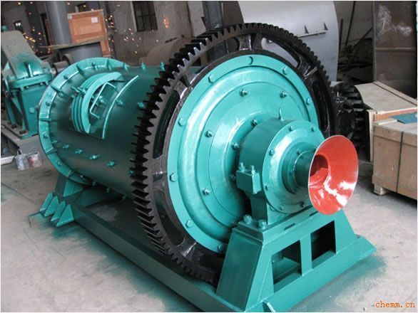 圆锥球磨机的常用结构