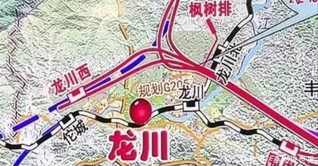 赣深铁路河源段内最大的站点:龙川西站