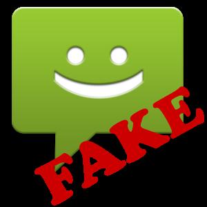 fake wayfarer  fake sms senderapp3.0