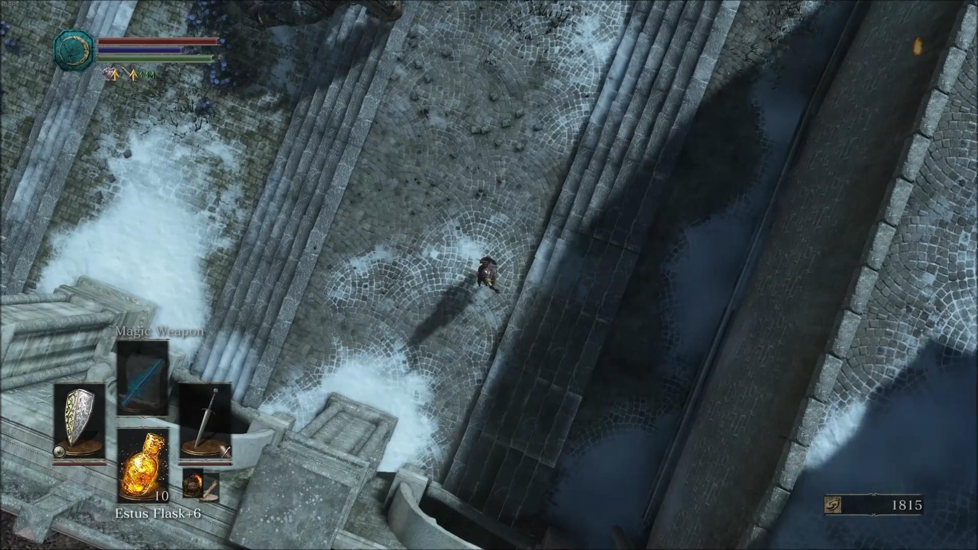 《黑暗之魂3》惊现上帝视角