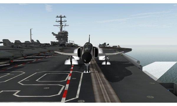 是:当飞机要降落时