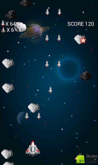 太空战机射击游戏_360手机助手