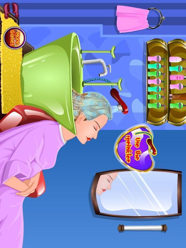 美发化妆游戏游戏截图