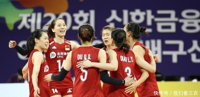 <b>亚锦赛,中国女排横扫印尼,新星发球太出色了,她俩展现巨星风采</b>