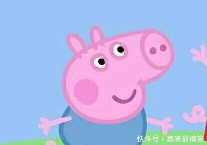 搞笑小猪佩奇系列表情,我很好,没有不开心怎样手机图片里表情包v表情图片