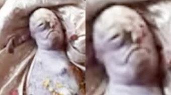 """印度山羊宝宝出生10分钟就夭折:长着一张""""人脸"""",有村民膜拜"""