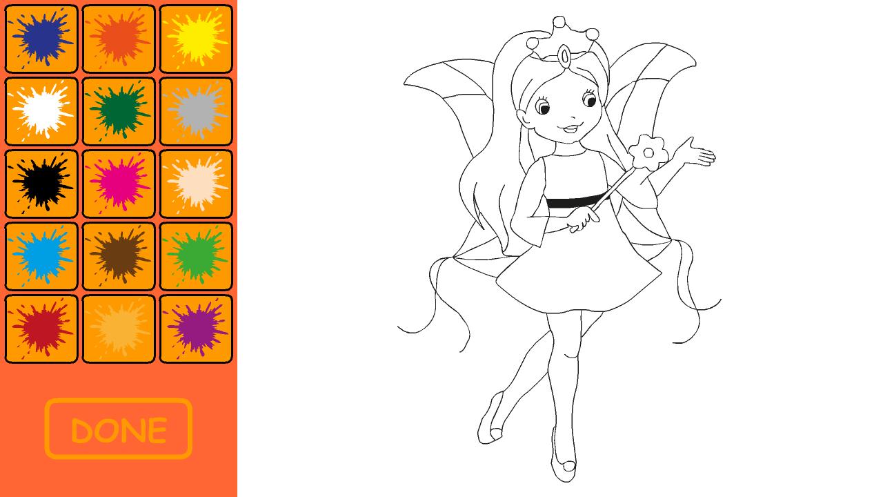 动漫美少女公主简笔画_乐乐简笔画