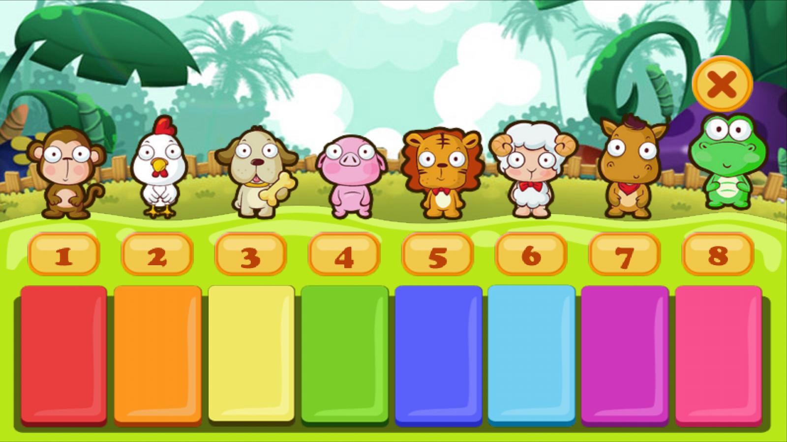 动物钢琴小游戏