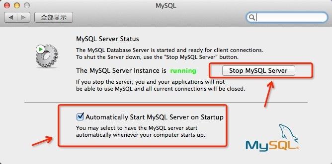MySQL启动配置