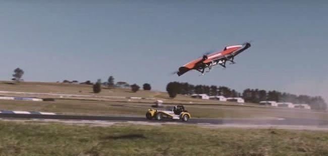 揭秘:世界首个飞行汽车赛车联盟诞生记