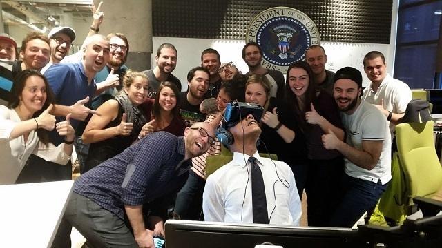 奥巴马贡献VR史上里程碑式照片