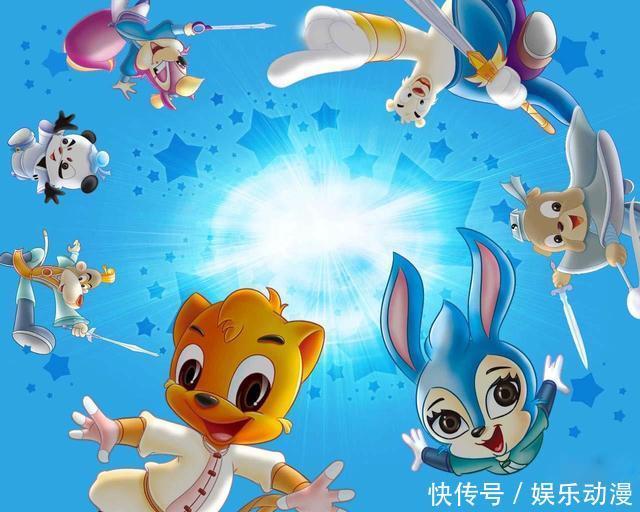 但是在十几年前,中国也做出了《少林传奇》,《虹猫蓝兔七侠传》这类极图片