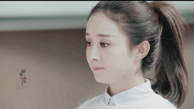 赵丽颖萌萌的样子,既美又可爱!
