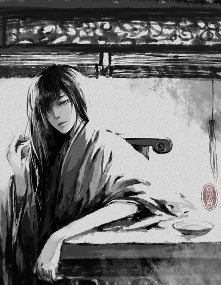 古代妖孽美男手绘图(有没有?