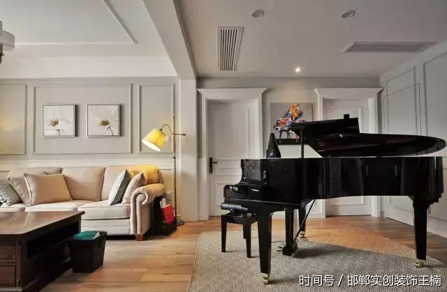【邯郸实创装饰】120㎡小资美式三居室,温馨和美