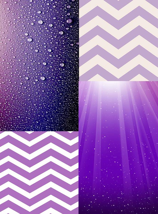 紫色ppt标题图标素材