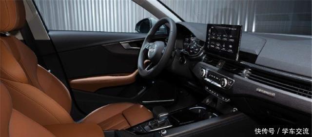2020款中期v中期奥迪A4发布,共计5款食品,奥迪补的车型钾图片
