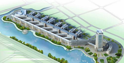 温州大学风景图图片