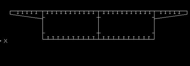 midas fea中带有横隔板的连续钢箱梁怎么建模