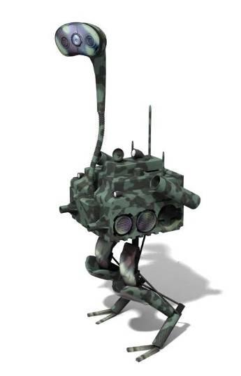 其他机器人还在学走路 这只机器鸵鸟已蒙眼狂奔 -  - 真光 的博客