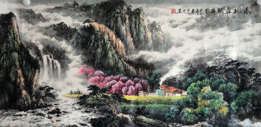 山水画陷入了形式主义的格式套路图片