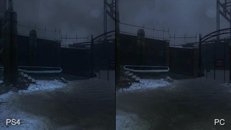 《羞辱2》PC和PS4版对比
