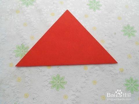 """折法步骤""""相关的详细问题如下: 工具/原料: 不同颜色的正方形纸两张"""