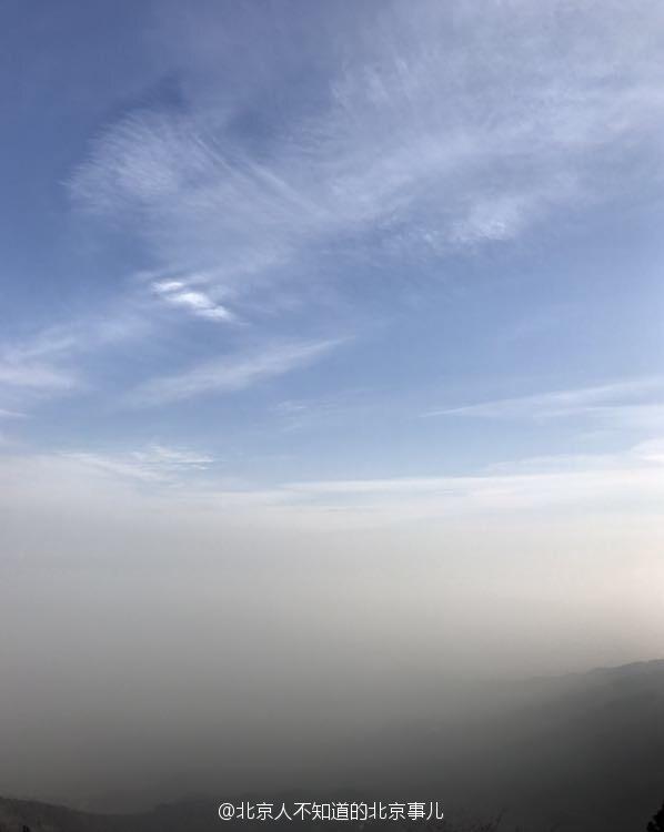 【转】北京时间      雾霾袭击北京城 游客登上香山顶观看 - 妙康居士 - 妙康居士~晴樵雪读的博客