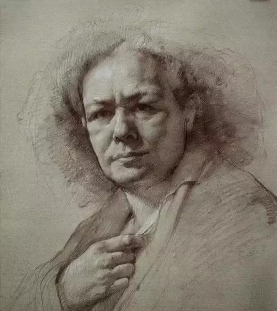 俄罗斯素描画家怎么处理素描关系 ART 第3张