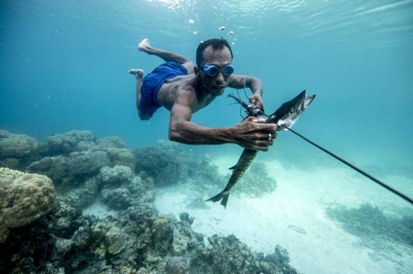 """世界最后的""""海上民族"""",为了潜水刺破耳膜,世代生活在海上"""