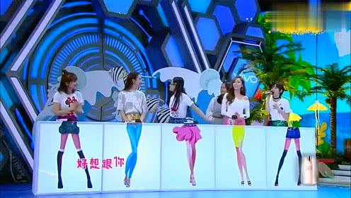 《快乐大本营》王子文唱歌谢娜伴舞,何炅:她会被自己的辫子抽死