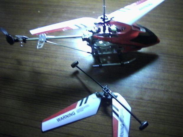 遥控直升飞机接驳轴脱落怎么上