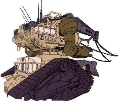 RX-75贝格·钢坦克
